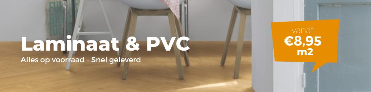 Laminaat en PVC
